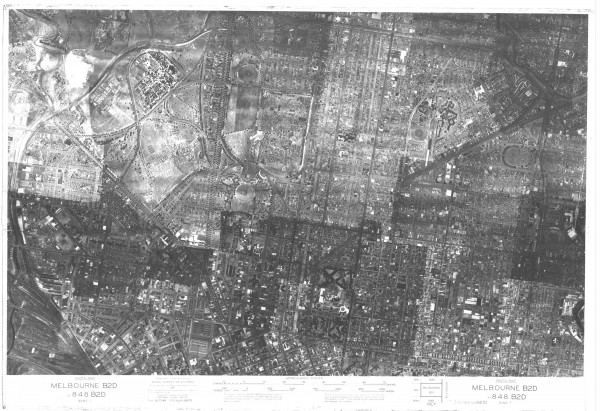 1945 Aerial Photo - Melbourne North