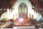 1980c 02 Cairns Memorial Church inside looking east from balcony