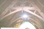 1980c 04 Cairns Memorial Church inside roof beams