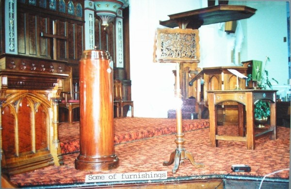 1980c 08 Cairns Memorial Church some furnishings