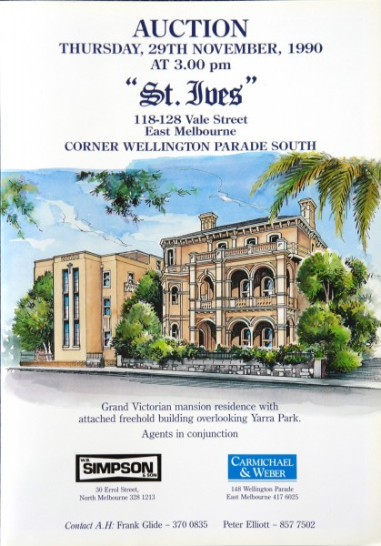 1990 St Ives Auction brochure
