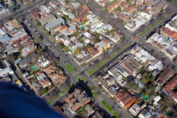 2007 Aerial photo - Simpson & Hotham Streets