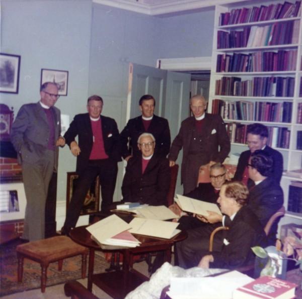 31 1971 Bishopscourt - Archbishop and regional Bishops