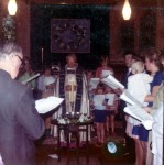 32 1971 Bishopscourt Chapel - Christening
