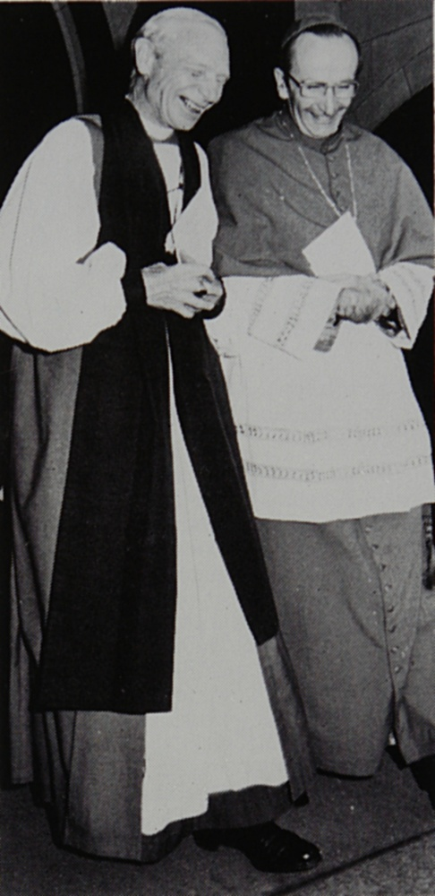 36 1976 St Patrick's Cathedral - Archbishops Frank Woods and Frank Little
