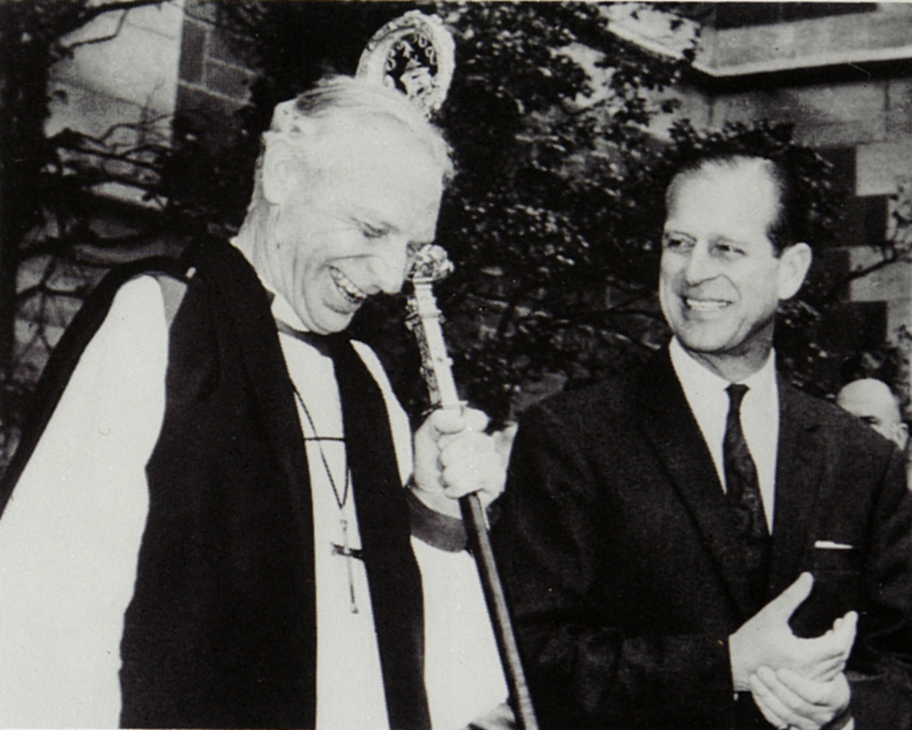 39 1974 St Paul's Cathedral - Archbishop Frank Woods, Duke of Edinburgh