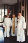 64 1992 Ordination as Deacon - Clemence with Frank Woods,