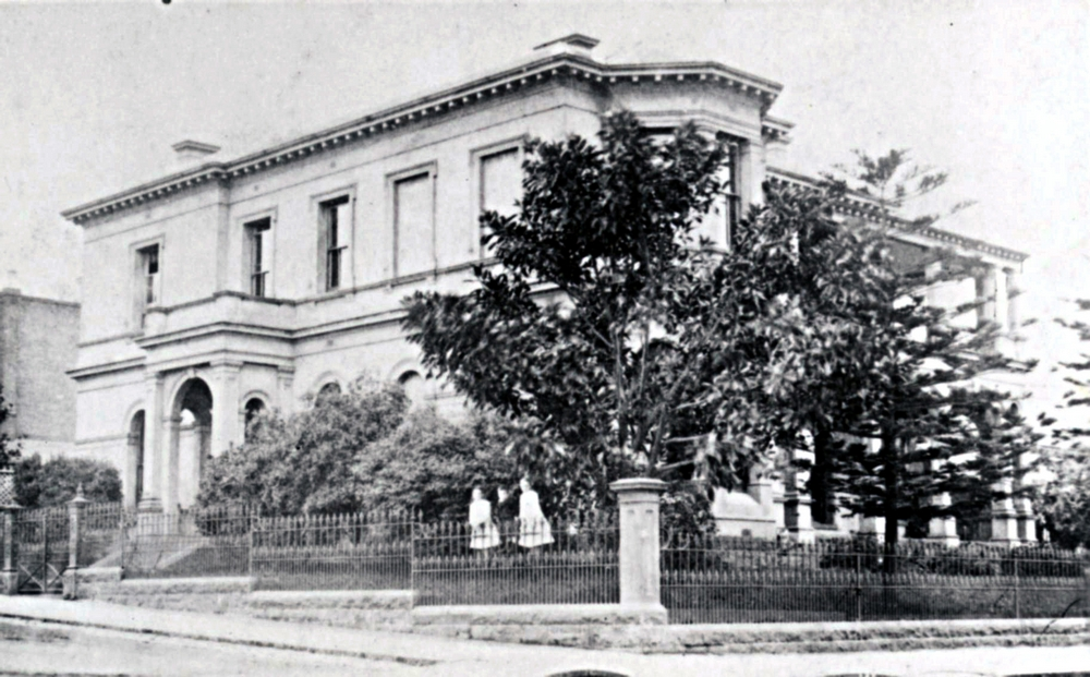 East Melbourne, Gipps Street, 118, 1885c, 10, Crathre, The Bungalow
