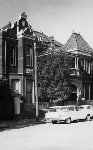 East Melbourne, Gipps Street, 144, 1970c, 11, Fanecourt, Torrington