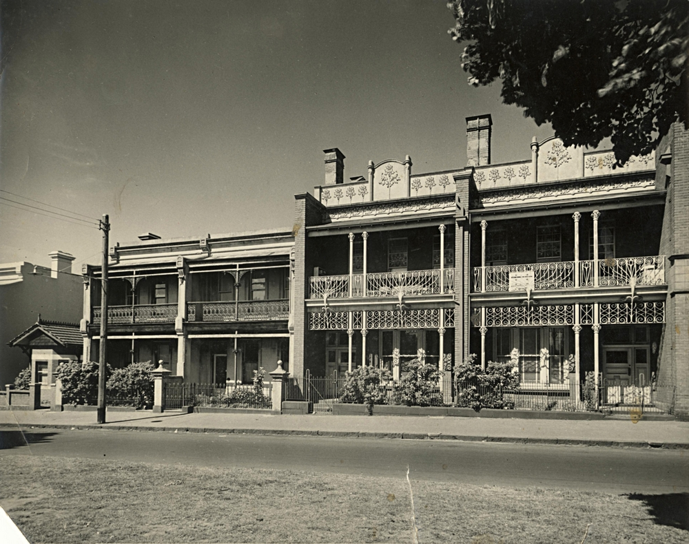 East Melbourne, Simpson Street, 008-014, 1956, 10