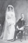 Johnston, Louise (nee Friedrichs) and Robert 1909