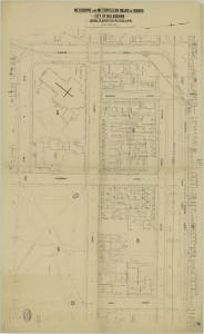 bw0018 MMBW Plan - Gisborne St, Victoria Pd, Eades St, Cathedral Pl