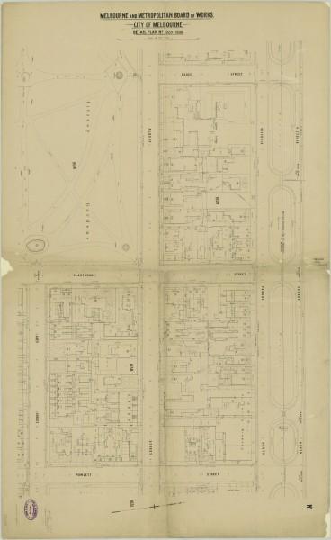 bw0019 MMBW Plan - Victoria Pd, Powlett St, Grey St, Eades St