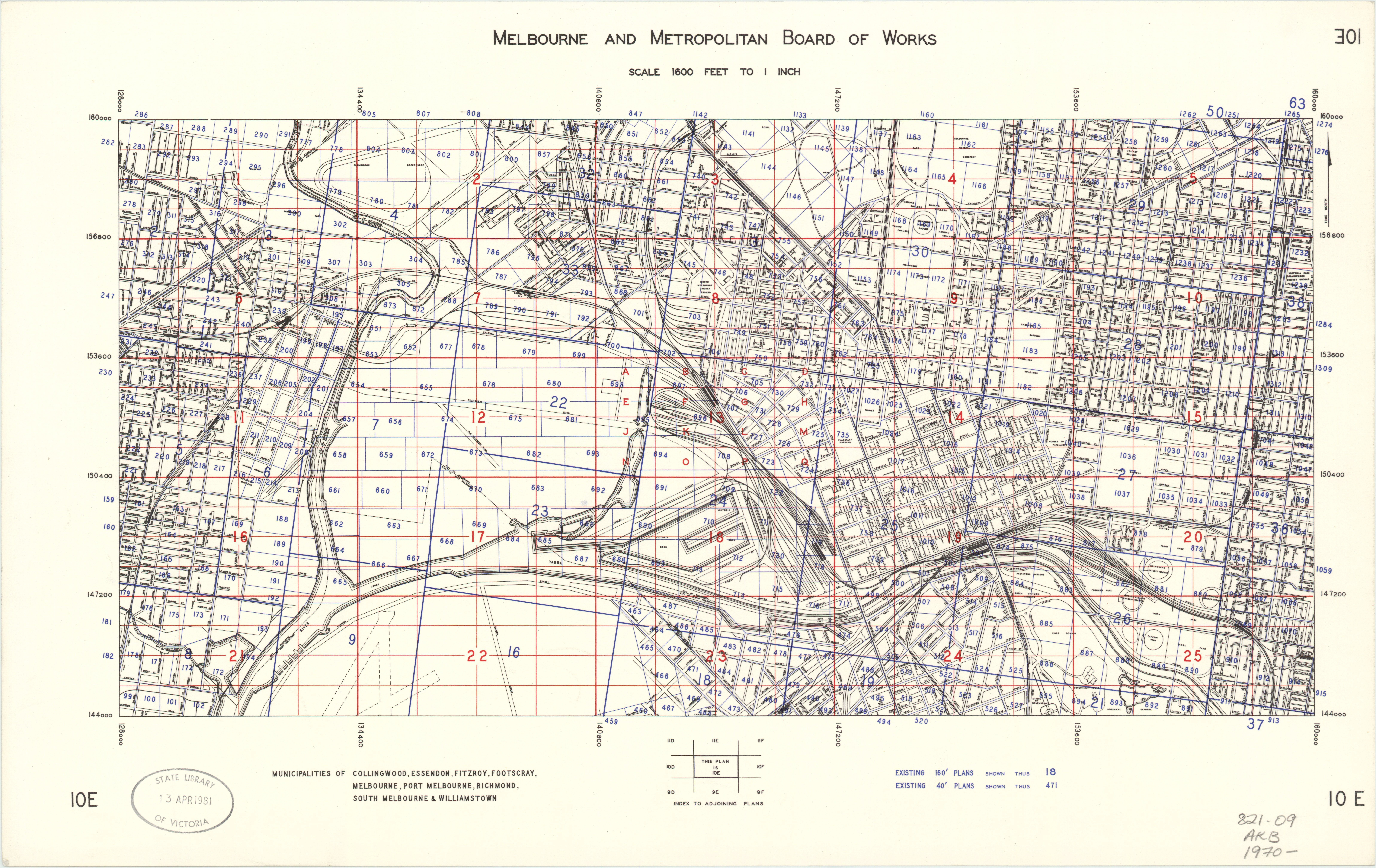 01 Bw0057 Mmbw Master Plan 10e Melbourne And Inner