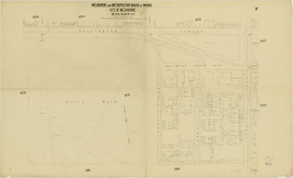 bw0506 MMBW Plan - Wellington Pd, Punt Rd, Vale St, Yarra Park