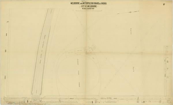 bw0507 MMBW Plan - Yarra Park, Richmond Oval