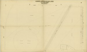 bw0509 MMBW Plan - Jolimont St, Yarra Park, Scotch Oval
