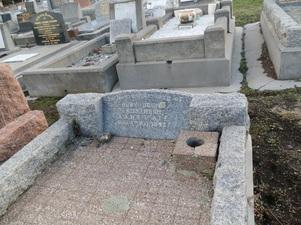 Ruby Droma Dickinson's grave, Hobart (courtesy Faithe Jones)