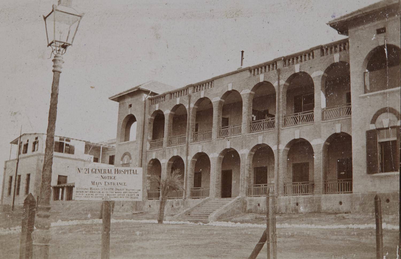 21 General Hospital, Alexandria where Dickinson nursed