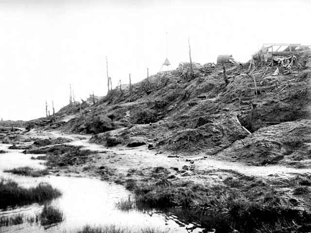 Polygon Wood Butter, captured by 5th Division AIF, 26 September, 1917