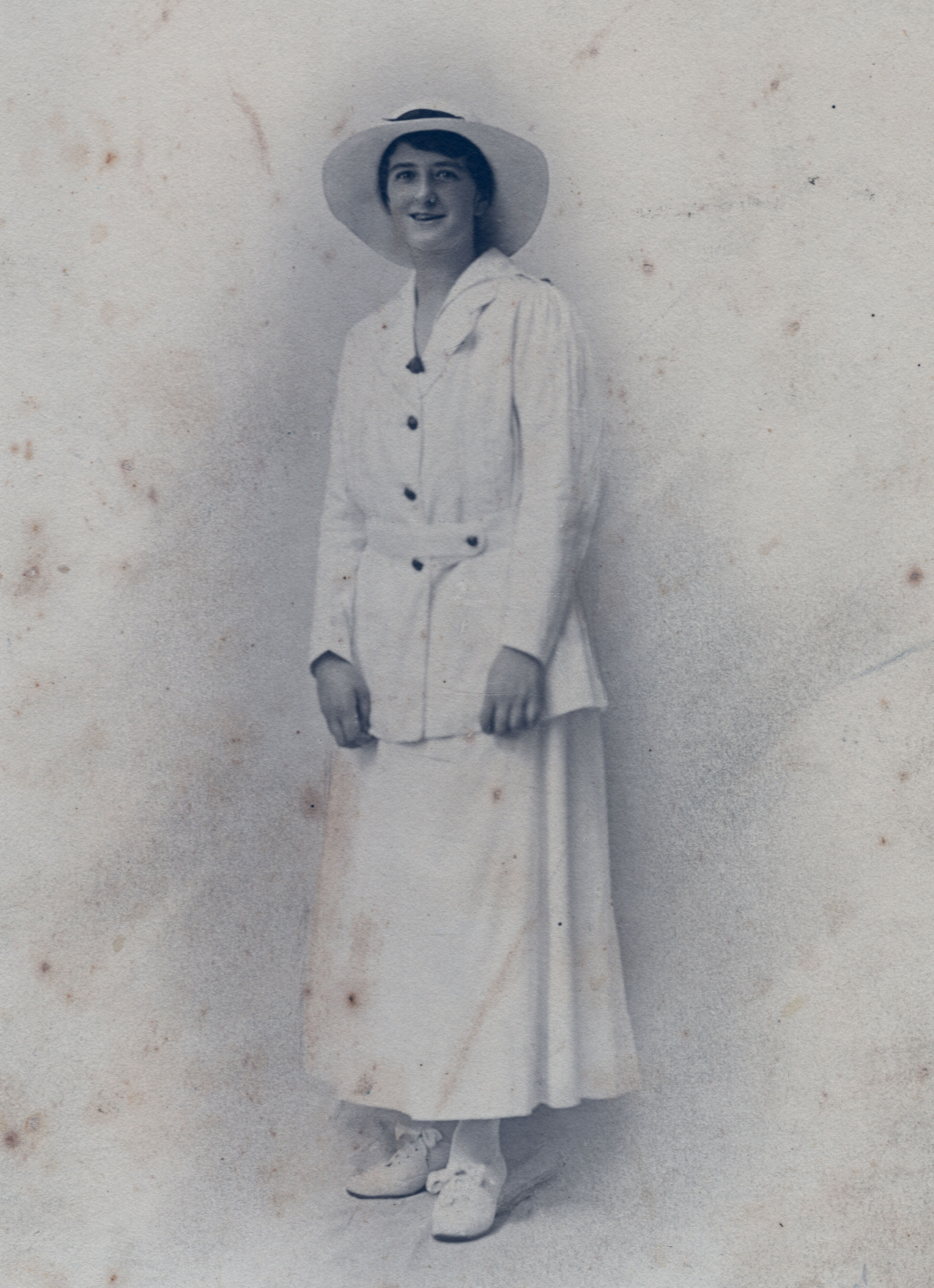 Brooks in AANS uniform for India (private collection)