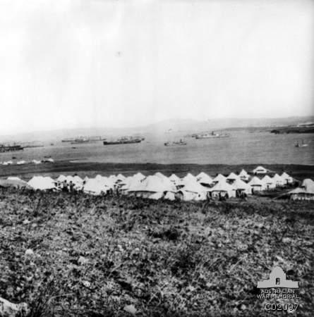2 Australian Stationary Hospital, Mudros West, Sept 1915 (AWM C02097)