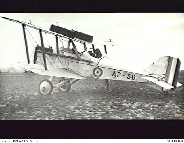Plane used by No. 2 Squadron AFC