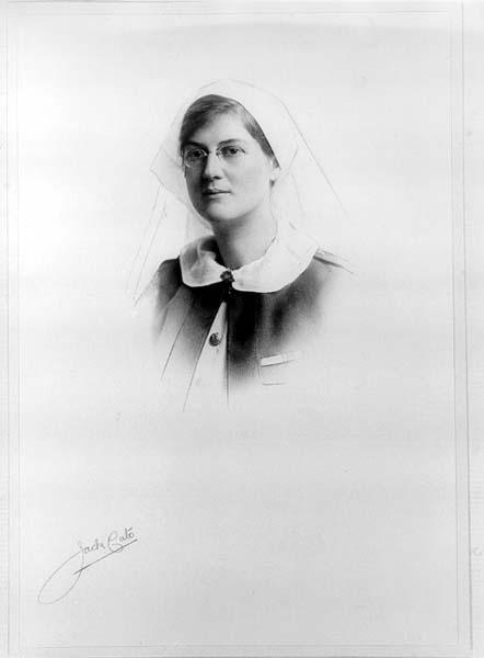 Nurse Muriel Thompson (Archives Tasmania)