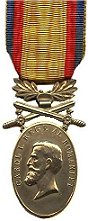 Medaille Barbatie si Credinta 1st Class (gold)